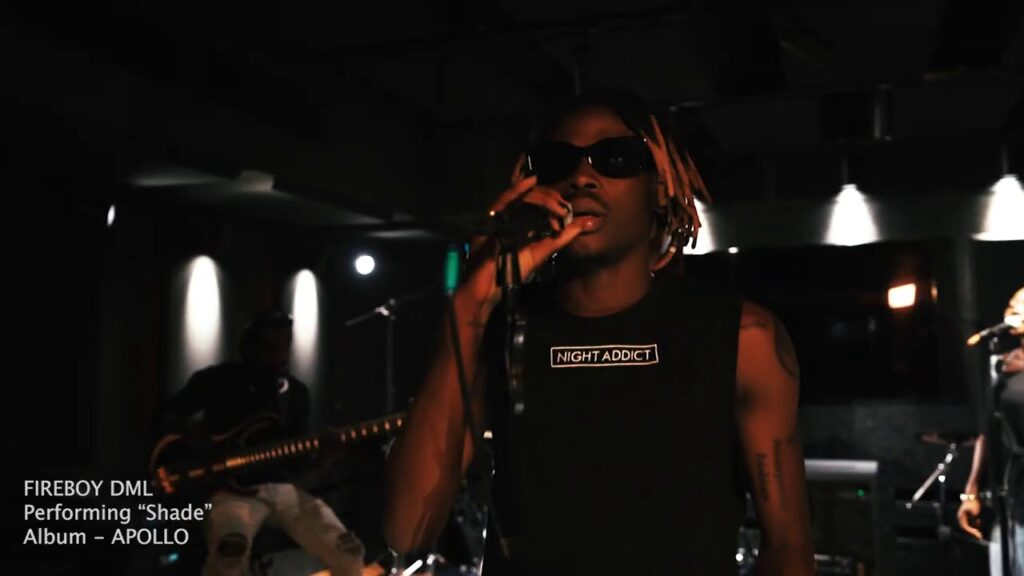 Fireboy DML – Shade (Acoustic Session)